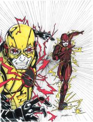 Flash:Reverse Color  by TravisMercer1017