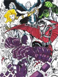 Teen Titans color  by TravisMercer1017