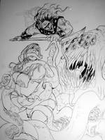 Goran Rough Cover Sketch By Miller by ConceptsByMiller