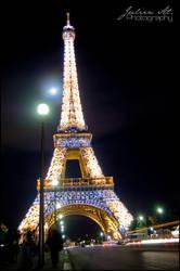 Paris la nuit 3 by Julien-Al