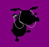 Courage the cowardly dog Ipod by Badtothebone0