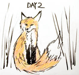 Inktober Day 2 by ShadowSpyProductions