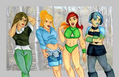 TDI Girls by ArchiCrash