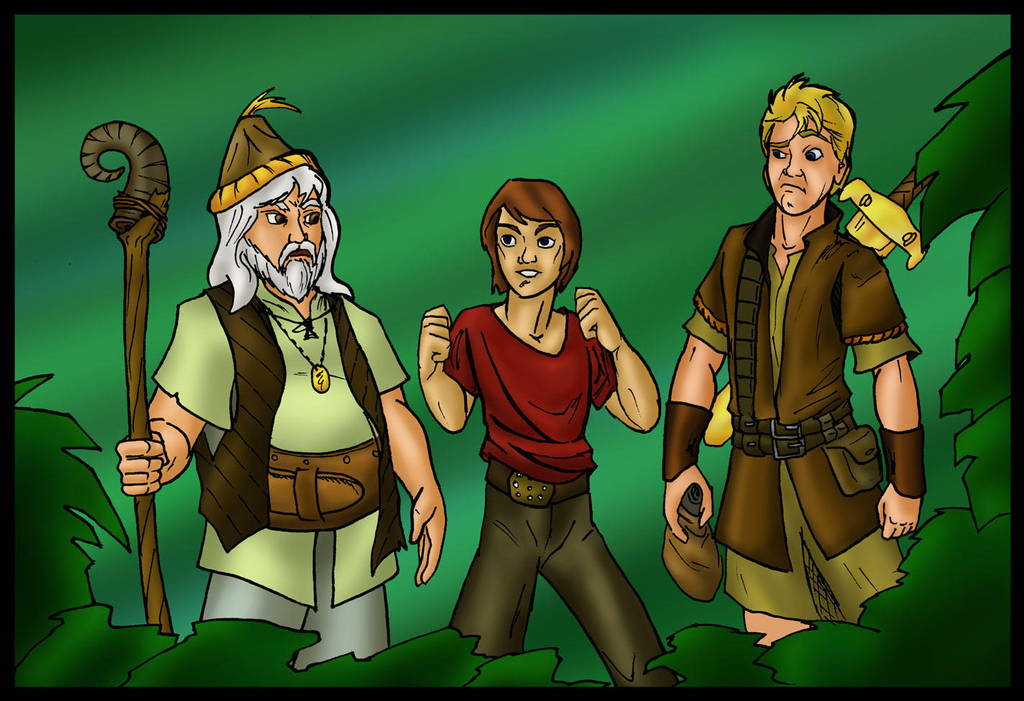 Wizards of the Other Lost Kingdom by ArchiCrash