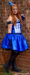 Unedited Tardis Cosplay by GingerSnap-Cosplay