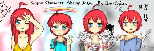 1 character in different world and personality by joshiwara