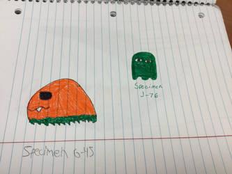 School Doodles #5 by ZeroFighter99
