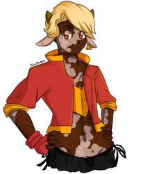 It's the Cow-boy by Poke-Chann