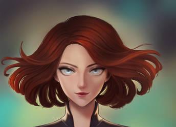 Black Widow by shinekoshin