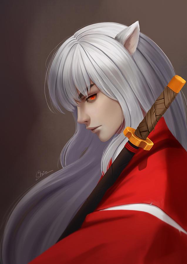 Inuyasha by shinekoshin