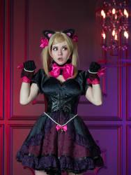 Black Cat D.va by AnastasiaKomori