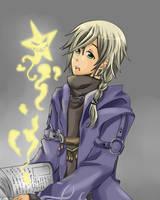 Art Trade- Wizard by Myiabi