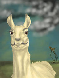 Dali Llama by Horace-Bulregard