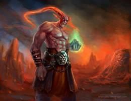 Demon by IcedWingsArt