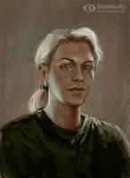 Self-portrait by IcedWingsArt