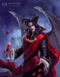 Mephistopheles by IcedWingsArt
