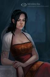 Raveena by IcedWingsArt