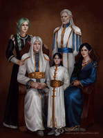 Family (Commission) by IcedWingsArt