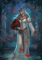 Lara Dorren by IcedWingsArt