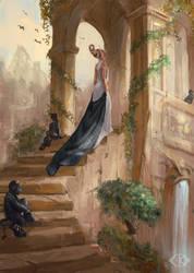 Heavenly Garden by IcedWingsArt