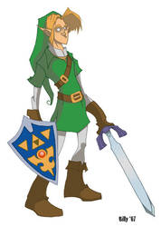 Legend of Link by Bloodzilla-Billy