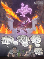 Critical Role Scanlan's Distraction by Takayuuki