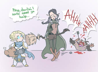 Critical Role vexs accident by Takayuuki