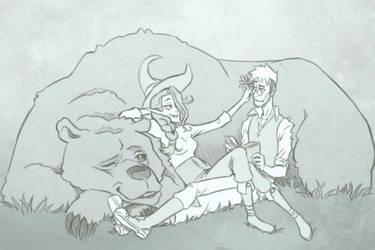 Critical Role Perc'halia + Trinket by Takayuuki