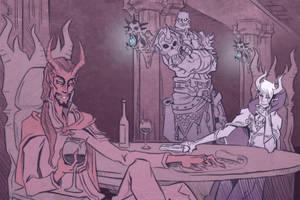 Critical Role Dark Deals Devil Percy by Takayuuki