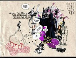 Honey The Mirror by ninevolt-heart