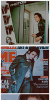 NME Magazine - Gerard Way by ninevolt-heart