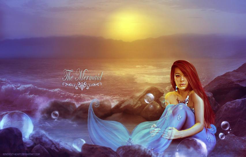 The Mermaid by ninevolt-heart