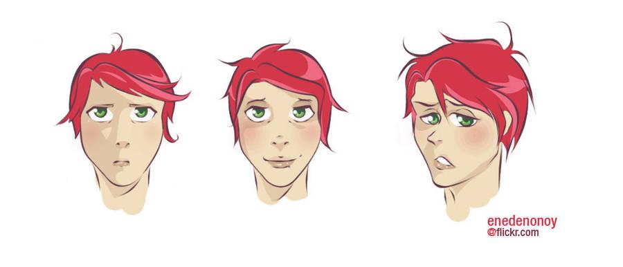 random face - Gerard Way by ninevolt-heart