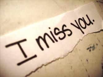 I miss you. by JONASADDICT2