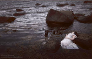 Where waves come to silently die by Christine-Muraton