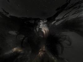 Gazing to the night by Christine-Muraton