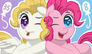 Pinkie Surprise by Template93