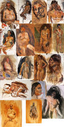 Oil Studies by Frrruuussstraation