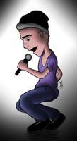 Young Singer by Ezequielmercado
