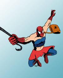 Spiderman / Degenerando superheroes by Ezequielmercado