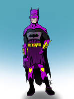 Batman / Degenerando superheroes by Ezequielmercado