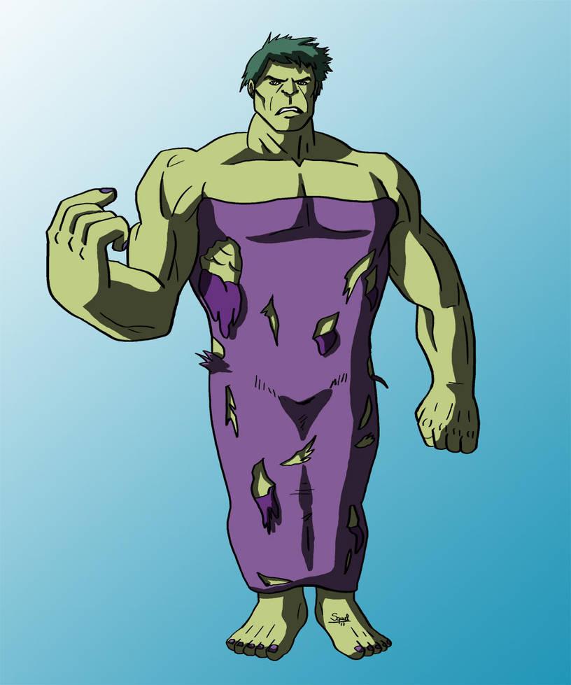 Hulk / Degenerando superheroes by Ezequielmercado
