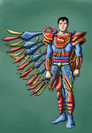 Superman's new suit by Ezequielmercado