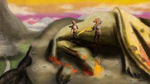 Initiation of the Dragonborn by Ezequielmercado