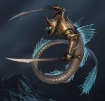 Merman Deep Warrior by MorkarDFC