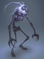 Lightning Skeleton by MorkarDFC
