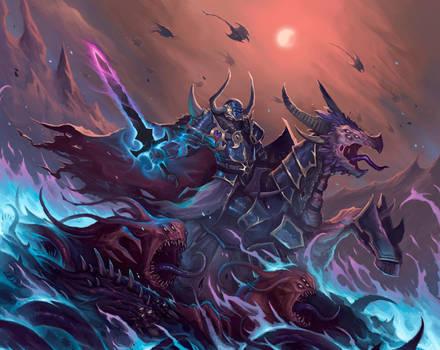 Champion of Tzeentch - Warhammer fanart by MorkarDFC
