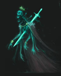 Character Design Challenge - The Cursed Kings by MorkarDFC