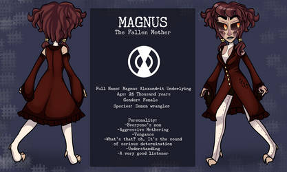 Magnus reference by WeepingGalaxy