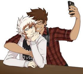 Allen and Alex by KingNeroche